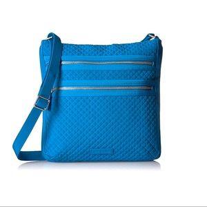 NWT Vera Bradley Triple Zip Hipster Crossbody Bag